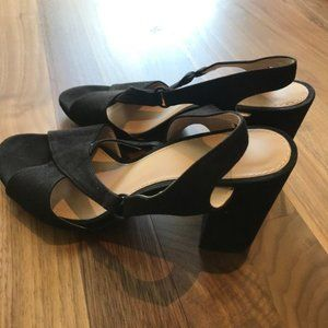 H&M Open-Toed Slingback Pumps